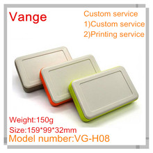 1pcs/lot injection making IP54 ABS plastic carry enclosures case for electronic project 159*99*32mm(China)