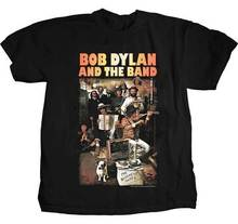 BOB DYLAN Basement Tapes T SHIRT  Brand New Official T Shirt red mens t shirt