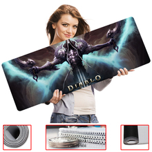Diablo Cartoon Series Table Mouse Pad With 800x300mm Large Size and Edge Locking for Internet Game and Office Use