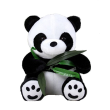 Little Panda Bamboo Toy Giant Panda Plush Stuffed Animal Doll Stitch Stuffed Toy Anime Dolls Spielzeug Christmas Gifts 50T0164(China)