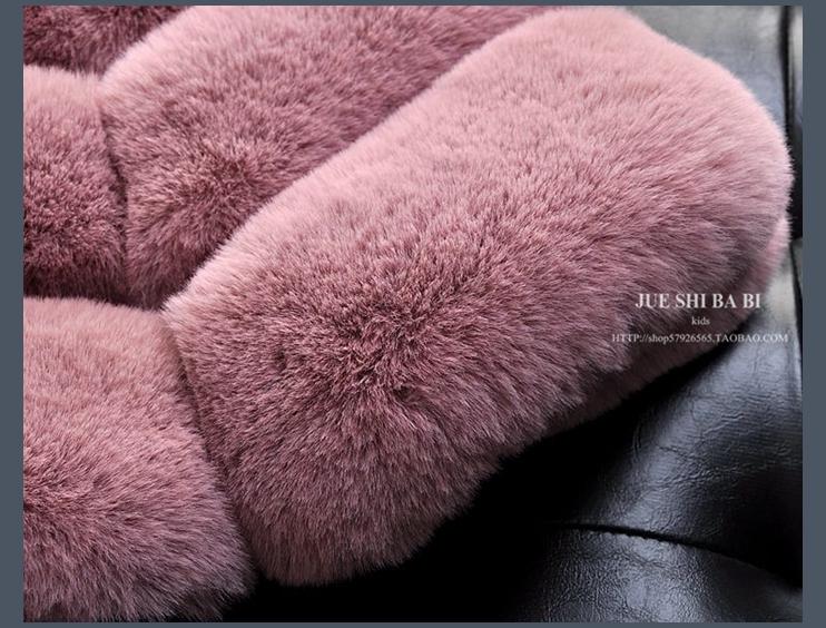 Detail Feedback Questions about Girls Vest Kids Coat Girl Fur Coat ... 73ab8e51e718