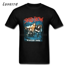 Skid Row T Shirt Men Latest T-shirt TeenBoys Short Sleeve Cotton XS-3XL Tee Shirts For Male O-Neck Fitness Brand Clothing Homme(China)
