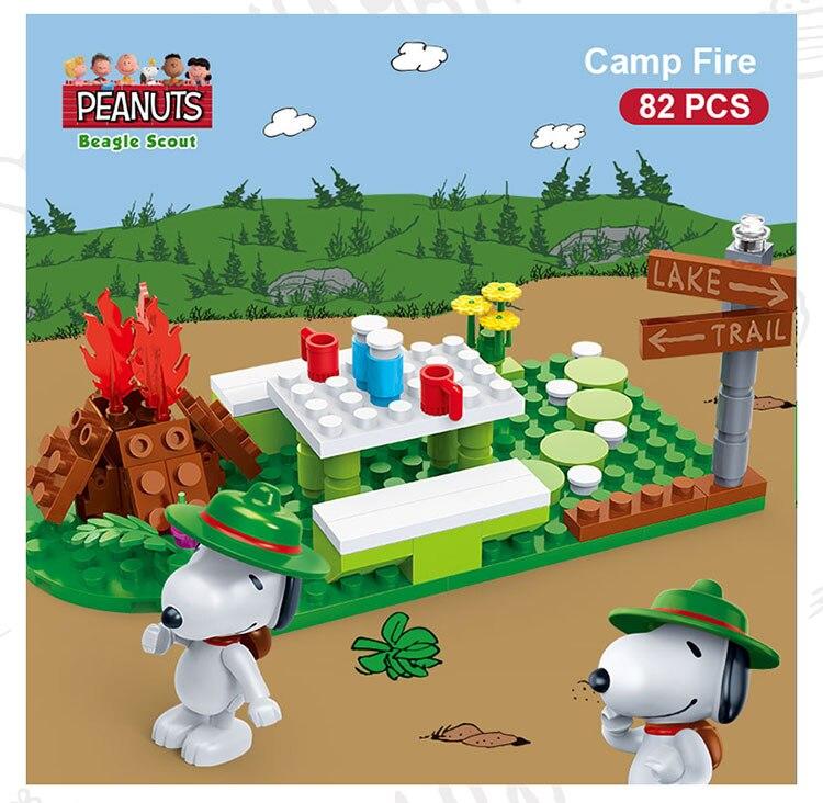 BanBao 7516 Camp Fire Plastic Building Blocks 19