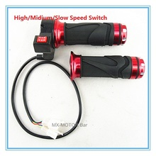 H/M/L Speed Switch Hand Grip 24V 36V 48V TWIST THROTTLE FOR ELECTRIC SCOOTER, POCKET BIKE, MINI DIRT BIKE & ATV-Quads - MXM Racing Parts Store store