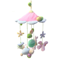 Musical Mobile Baby Crib Rotating Music Box Baby Toys New Multifunctional Baby Rattle Toy Baby Mobile Bed Bell WJ334