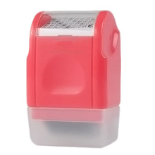 Creative Confidentiality Roller Stamps Messy Code Security Self-Inking Stamp Portable Mini Covering Stamps