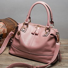 2017 Summer and Autumn genuine leather women's handbag /Cowhide one shoulder messenger bag for women / Hot selling leather bags