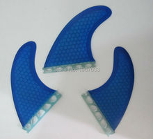 Blue Surf Fin Future G5 Tri set for surfboard, SUP board for sale thruster option(China)