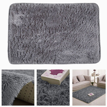 Warm 60x40cm Sofa Coffee Table Faux Artificial Skin Living Room Tea Table Rugs Floor Carpets Anti Slip Soft Mat Silky Carpet