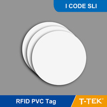 RFID Tag for access control, RFID PVC Token for asset management, RFID PVC tag with I CODE SLI Chip