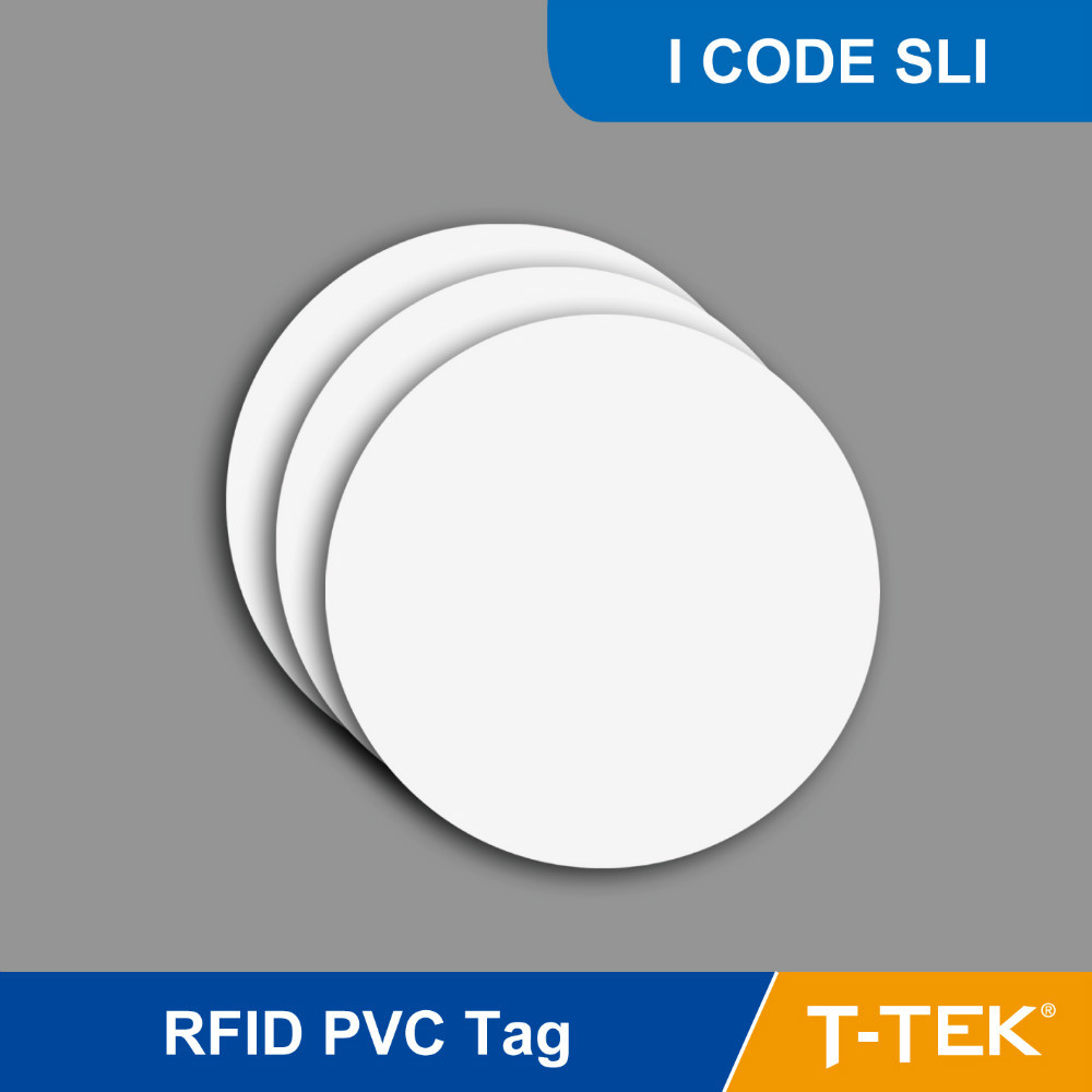 RFID Tag for access control, RFID PVC Token for asset management, RFID PVC tag with I CODE SLI Chip<br><br>Aliexpress