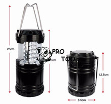 Free Shipping Ultra Bright Collapsible 30 Led Lightweight Camping Lanterns Light For Hiking Camping Emergencies Protable Lantern