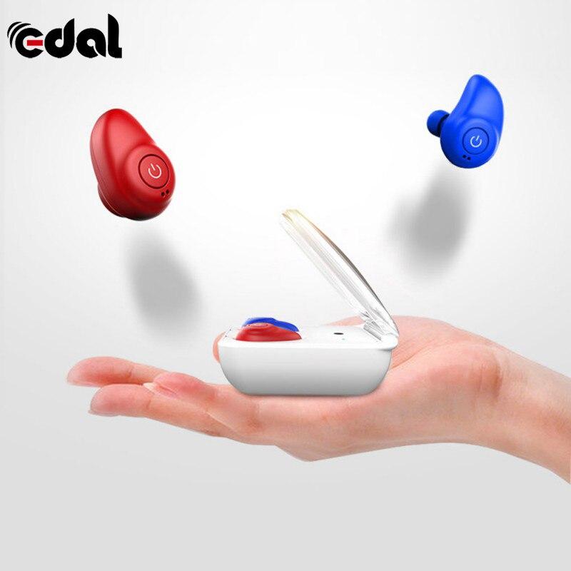 Wireless Earphones with Charging Case Mini Stereo Bluetooth Earphones in-ear Design Sweatproof Wireless Sports <br>
