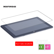 For Cube Iwork 1X 11.6 Inch Tempered Glass Full Screen Protector Tablet PC Film 2.5D Edge 9H Hardness Transparent Ultra-thin
