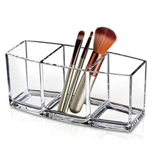 New Make Up Organizer Clarity Cosmetic Makeup Tools Storage Box for Vanity Cabinet to Hold Makeup Brushes, Beauty Products
