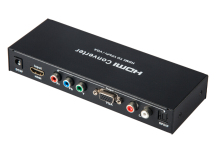 HDMI to Component YPbPR & VGA Video Converter Adapter HDMI to VGA/Ypbpr+R/L/SPDIF Converter 1080p Video Audio RCA L/R 1080P