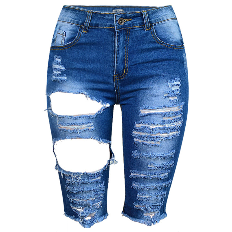 Women Shorts With Hole High Waist Hot Sexy Hole Jeans Short Name Brand Designer Women Shorts Denim Summer Style Jeans Short S423(China (Mainland))