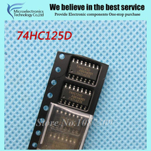 20pcs free shipping 74HC125D 74HC125 SN74HC125D SOP-14 Buffers & Line Drivers QUAD 3-ATE BUS BUF new original
