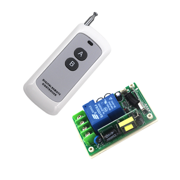 AC85V-250V 1CH 30A Remote Control Switch Relay Output Radio Receiver Module and 200M Range Transmitter Free Shipping SKU: 5275<br><br>Aliexpress
