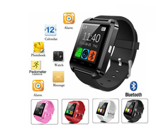 Bluetooth Smart Watch U8 Smartwatch U80 Android Watch For iOS iPhone Samsung Sony Huawei Xiaomi Android Phones PK GT08 DZ09 kids