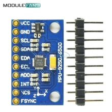 IIC I2C SPI MPU6500 MPU-6500 6-Axis Gyroscope Accelerometer Sensor Module Replace MPU6050 For Arduino With Pins GY-6500(China)
