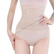 Shaper Abdomen Control Panties Sexy Lingerie Corset Set Steel Boned Hipster Solid Briefs Undergarments Spandex(China)