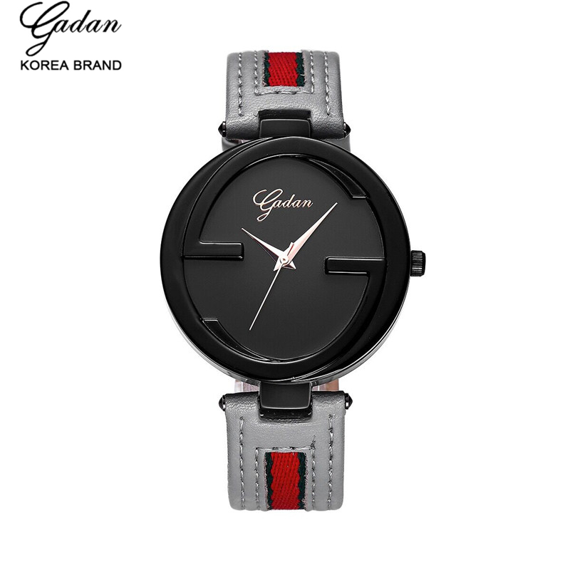 YADAN 8071 casual fashion ladies leather strap watch, quartz waterproof luxury brand ladies watch relojes mujer montre femme<br><br>Aliexpress
