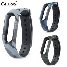Buy Cewaal Fashion TPU Smart Wristband Wrist Strap Bracelet Replacement Xiaomi Mi band 2 Strap Smart Watch for $1.61 in AliExpress store
