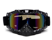 High Quality ski Racing Goggles Eyewear Dual Lens Silvering Frame Bubble Design Free Shipping