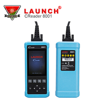 Launch CReader 8001 OBDII/EOBD ABS SRS diagnositic oil reset /EPB reset OBD2 Scanner OBD 2 Code Reader(China)