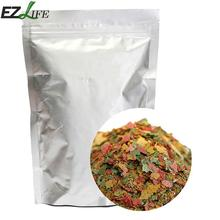 EZLIFE Aquarium Fish Food Tetra Flakes For Tropical Fish Marine Ornamental Fish Small Goldfish Koi Feeding Food 100g/Pack PT0304(China)