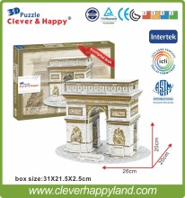World Famous building 3D Foam puzzle model - Triumphal Arch puzzle(China)