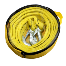5Tons 4Tons 4 Meters Strong Nylon Towing Rope With Hooks Automobile Trailer Rope Car Tools High Quality