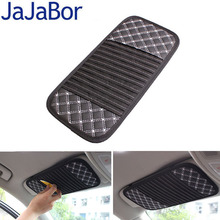 JaJaBor Car CD Holder Auto Visor DVD Disk Card Case Clipper Bag Car Styling Interior Organizer Cover Stowing Tidying