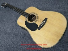 left hand Acoustic Guitar 41 inches Natural Acoustic Guitar With Fishman Pickups In Stock Free Shipping
