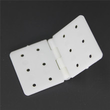 Wholesale Plastic Pinned Nylon Hinges 20x36 mm RC Model Airplanes Parts Replacements (Pack of 100)