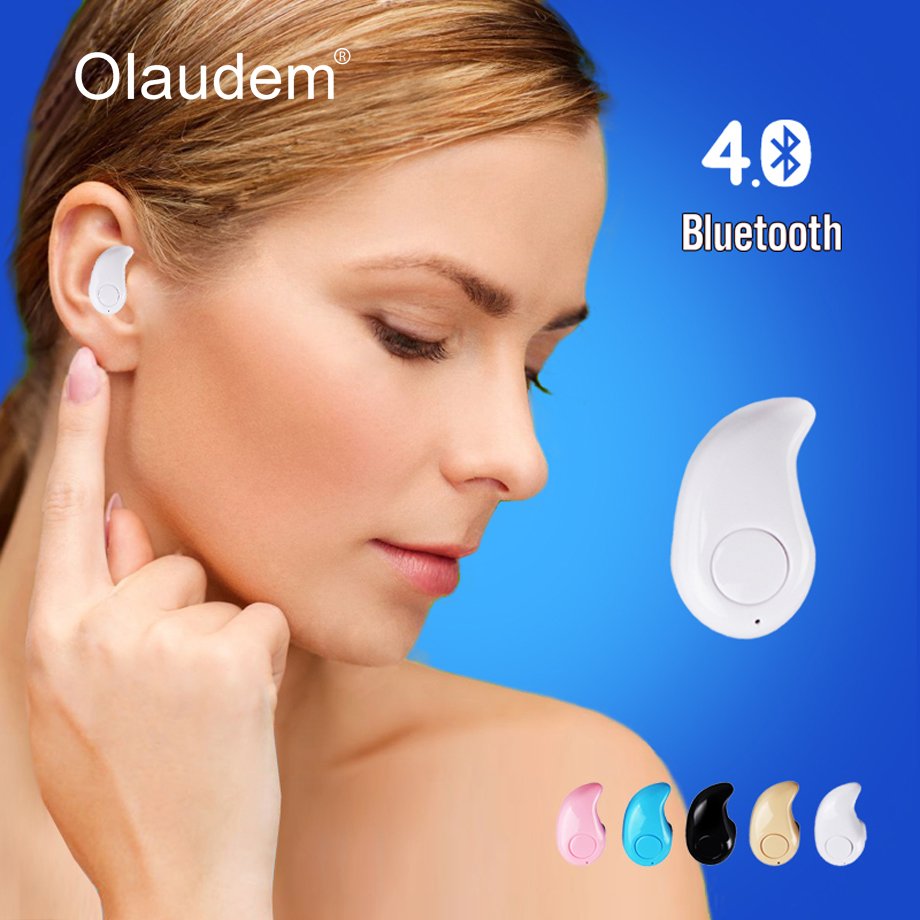 Mini Bluetooth Wireless In-ear Earbud Earphone for iPhone 5 6 Telephone Fone de Ouvido Audifonos Auriculares EPS530(China)
