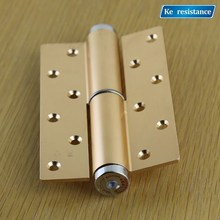 Ke resistant invisible door hydraulic hinge buffer automatic door closers background wall door hinge positioning(China)
