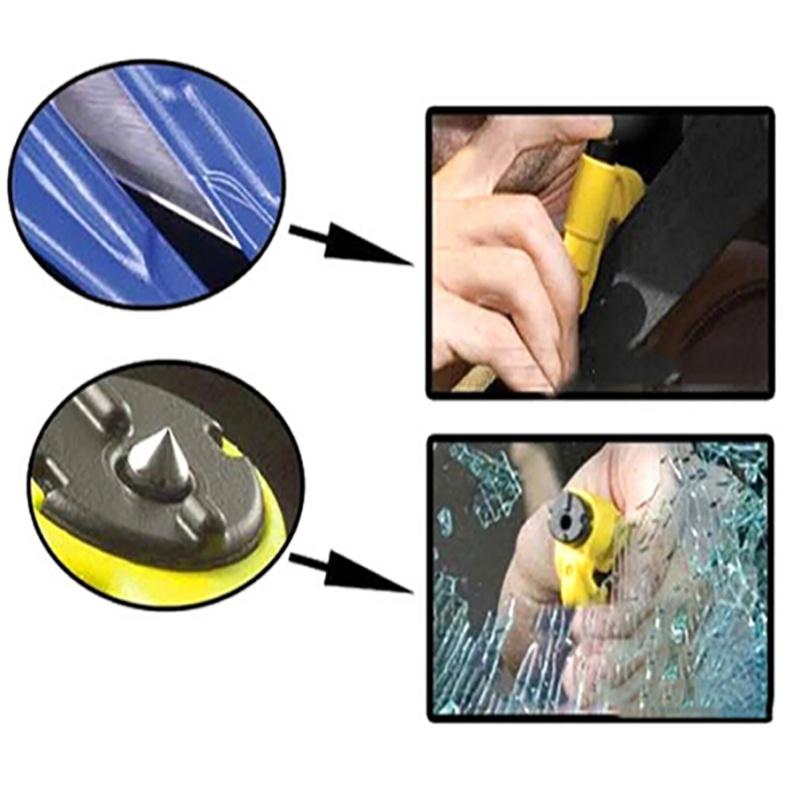 Car Life-saving Escape Tool Mini Safety Hammer Auto Car Window Glass Breaker Seat Belt Cutter Rescue Hammer
