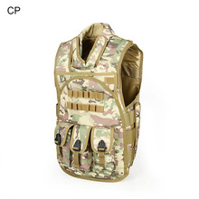Tactical Airsoft  600D Oxford Fabric  Vest Outdoor Vest  Vest Army Training Combat Uniform Paintball Accessory CL4-0027