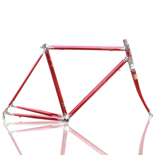 700C LUG FRAME Vintage Bicycle frame road bicycle mountain bike fixed gear bicycle Reynolds frame Customize frame(China)