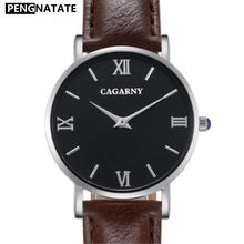 CAGARNY Watches Women Leather Watchbands Design Women Wrist Watches Ladies cheap watch Hot Sale Discount Belt waterproof Watch(China)