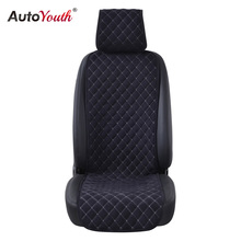 AUTOYOUTH Fashion Car Seat Cushion Universal Nano cotton velvet Cloth Car Seat Cover Fits Most Car or SUV 4 Colour Car Styling(China)