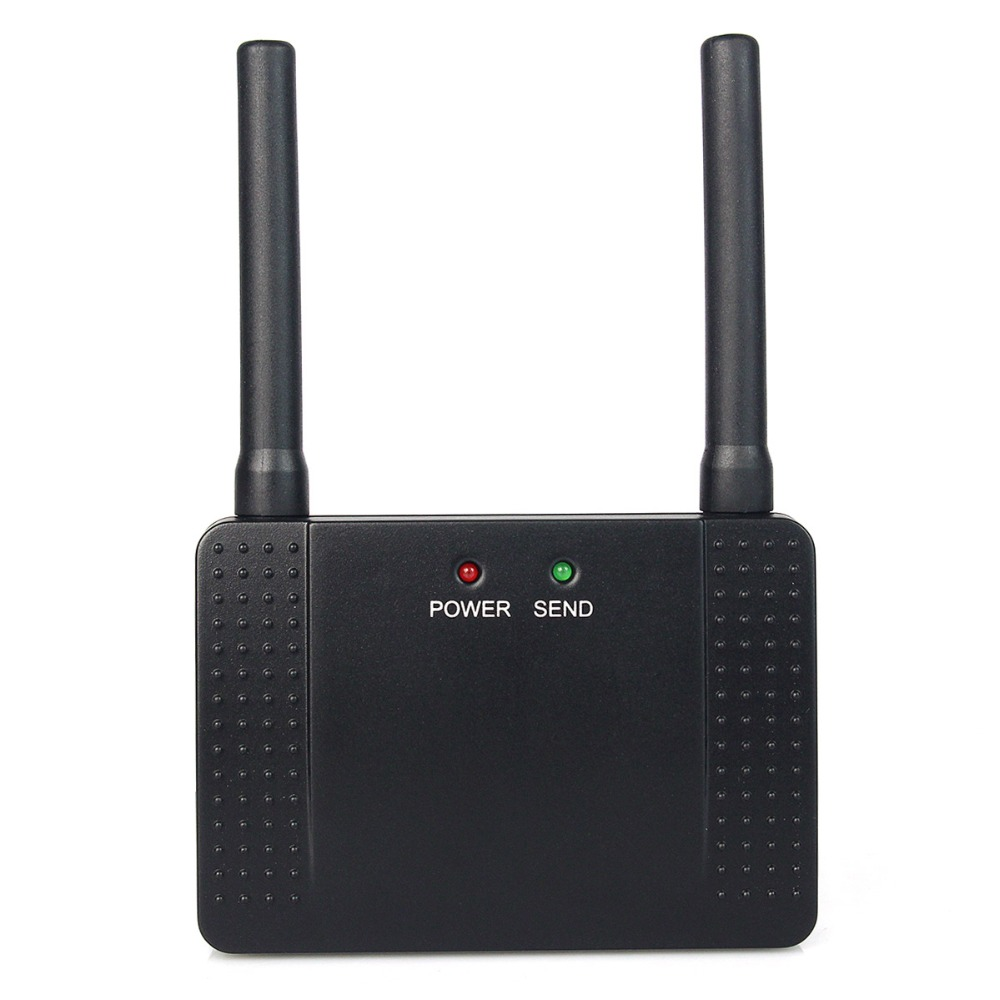 433MHz 500mW RF Wireless Repeater Signal Amplifier Learning Code Extender for Wireless Calling System Restaurant Pager F4408A<br>