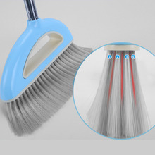 1pcs Broom Dustpan Combination Set Cleaning Products Household Cleaning Tools Stainless Steel Rod Superfine Fiber Office Home(China)