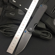 Land 9105 12C27 Blade G10 handle Folding Knife Outdoor Hunting Camping Survival EDC Pocket Knife Top Quality Kitchen Tool Gift