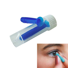 1Pcs Portable Contact Lens Inserter for Color Colored Halloween Lenses Solid & Hollow Remover For Hard GP Lenses Fashion Stick(China)