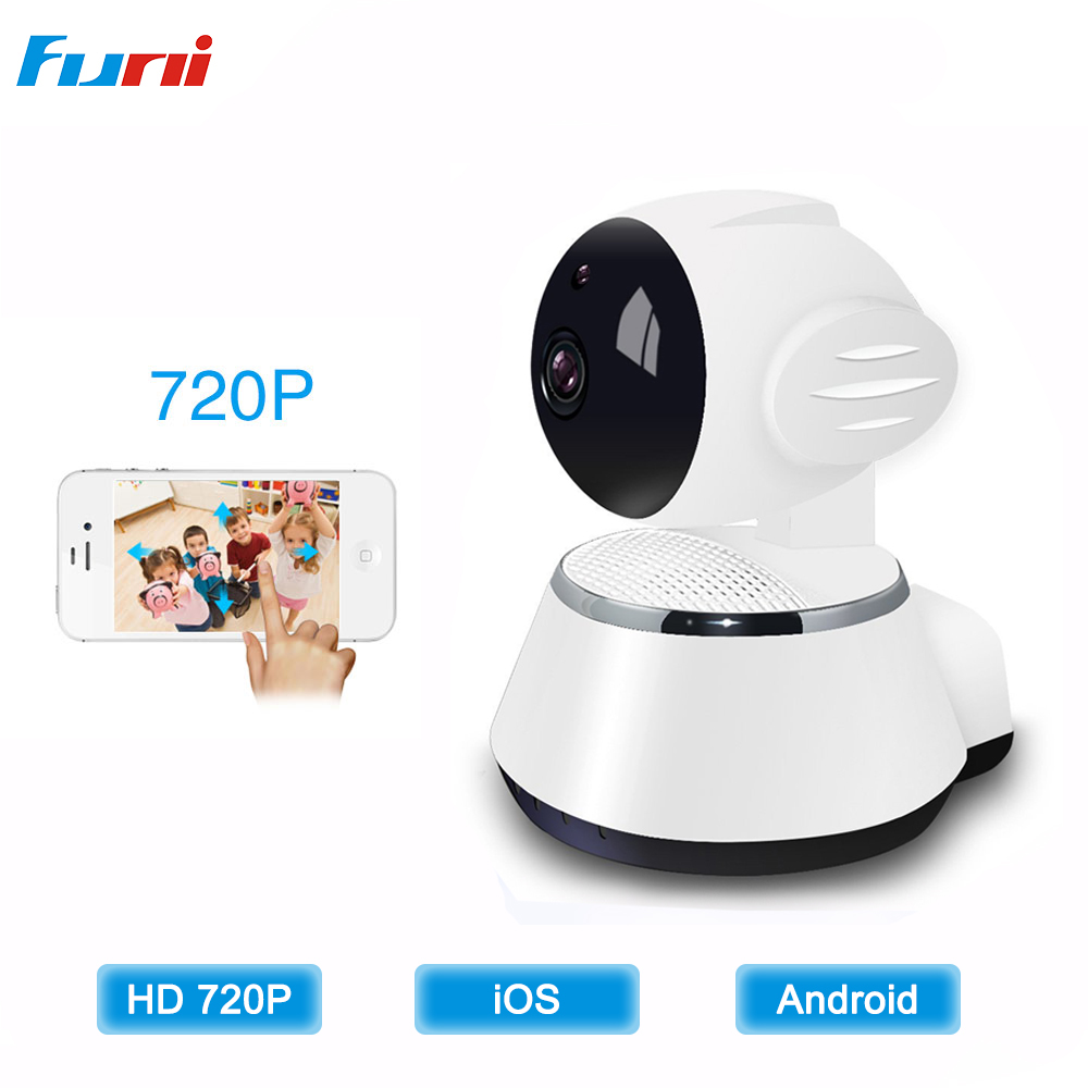 Funi 720P IP Camera Wi-fi Home Security Wifi Camera Night Vision without SD Card Indoor Baby Monitor CCTV C amera Videocam<br>