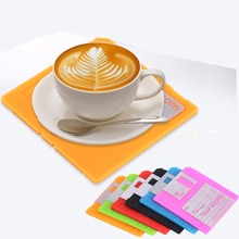 Non-slip Insulation Placemat Cup Mat Pads Coffee Mug Drink Coasters Dining Table Placemats Desk Accessories Table Desk Decor(China)