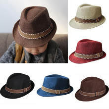 Fashion Baby Hat Baby Cap Kid Hat Jazz Cap For Boy Girl Hat  born Photography Prop Trilby